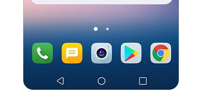 LG toont nieuwe functies LG V30: Floating Bar en always-on display