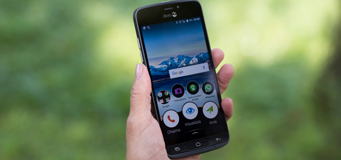 Doro 8040 aangekondigd: nieuwe, eenvoudige high-end smartphone voor senioren