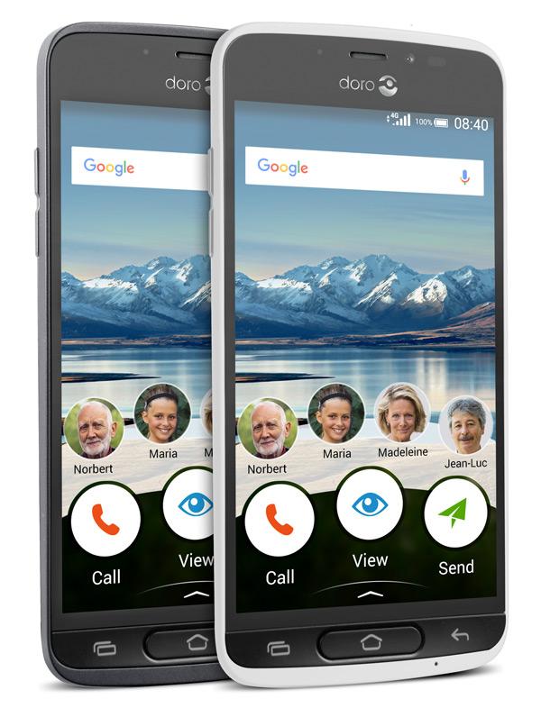 doro 8040 uitgebreide smartphone voor senioren nu te koop. Black Bedroom Furniture Sets. Home Design Ideas