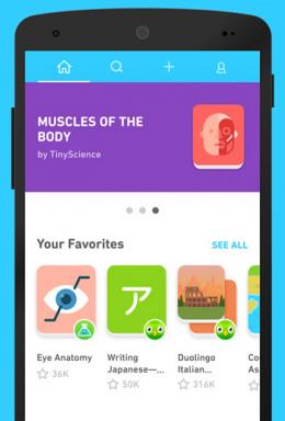 Duolingo TinyCards