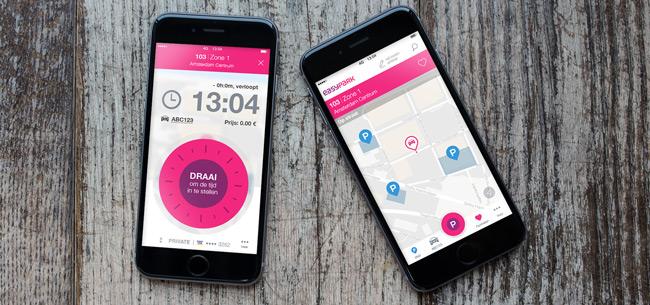 EasyPark app