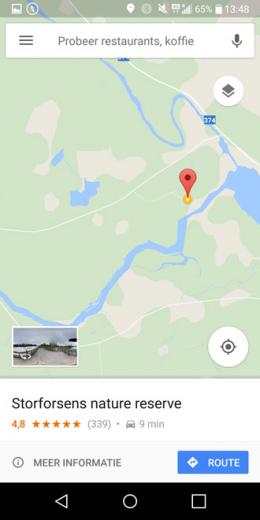 Google Maps lagen