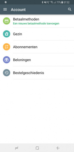 Google Play Family Nederland
