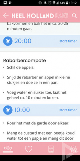 Heel Holland Bakt app