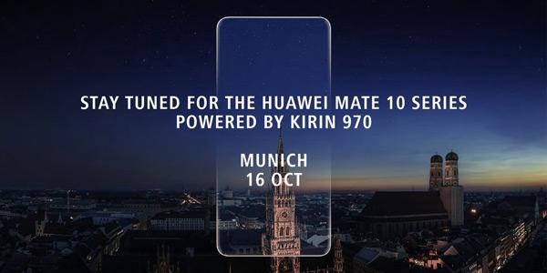 Huawei Mate 10 16 oktober