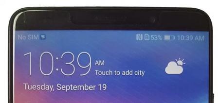 Evan Blass lekt duidelijke foto Huawei Mate 10: toestel krijgt gezichtsherkenning