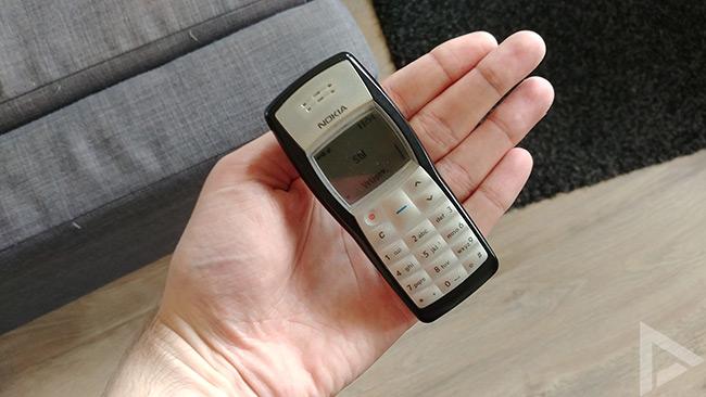 Nokia 1100 formaat