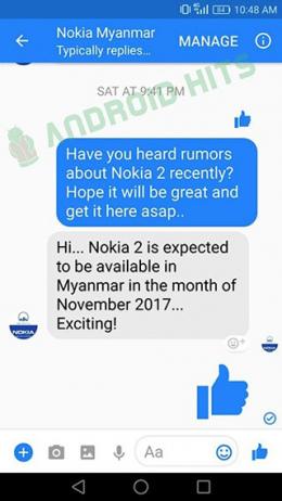 Nokia 2 november