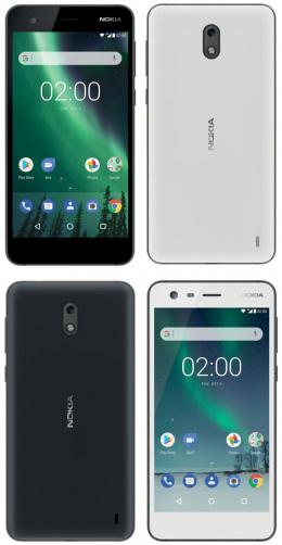 Nokia 2 persfoto's