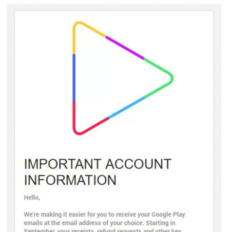 Play Store logo 2017 Google