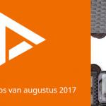 De 5 beste apps van augustus 2017 (+ het belangrijkste nieuws)