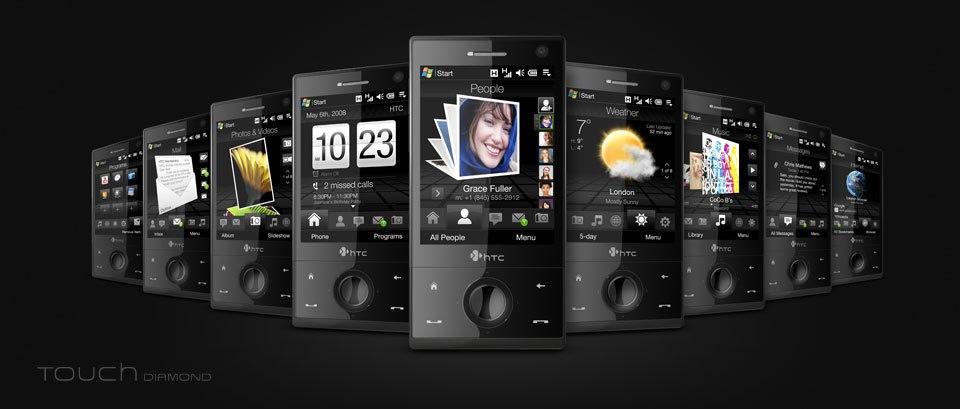 HTC TouchFlo 3D