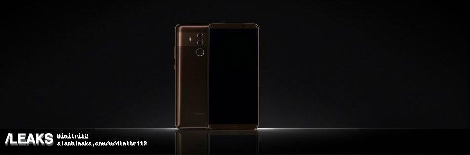 Huawei Mate 10 bruin reclame