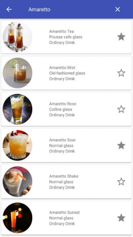 My Cocktail Handbook app