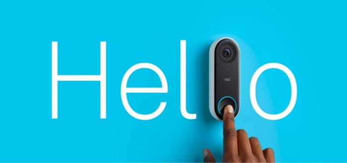 Nest komt met 'Hello' deurbel vol mogelijkheden: koppeling met smartphone