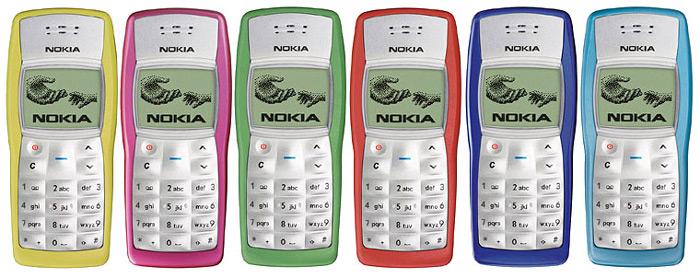 Nokia 1100 kleuren