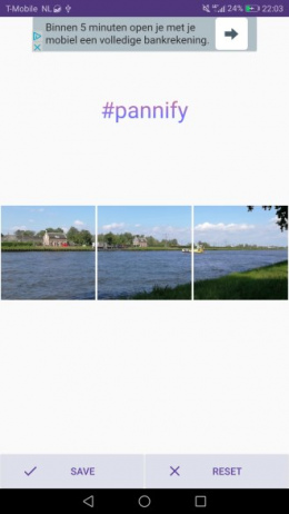Pannify app
