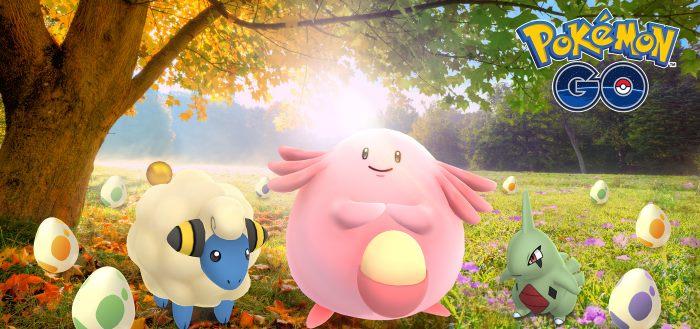 Pokémon Go herfst evenement brengt dubbele Stardust en triple XP