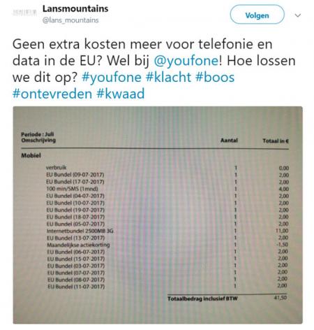 Youfone EU bundel