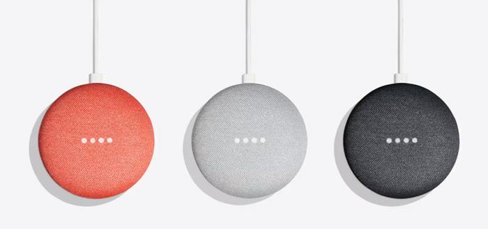 Google Home Mini vandaag voor 39,95 euro te koop