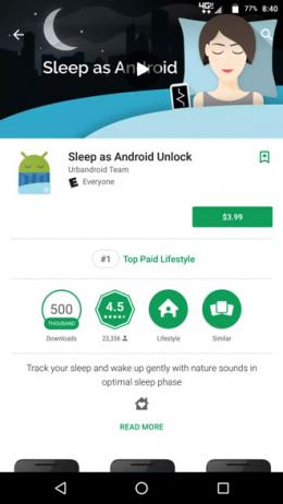 Google Play Store ranking