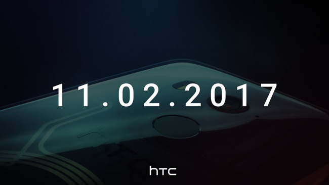 HTC U11 Plus teaser 2 november