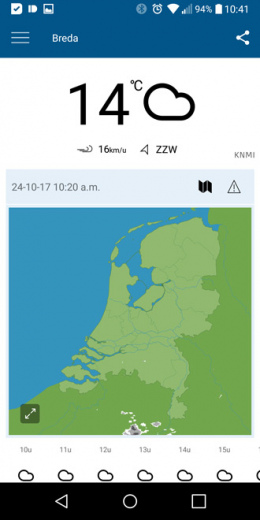 KNMI app