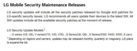 LG G4 beveiligingsupdate