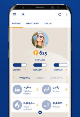 Menzis SamenGezond app