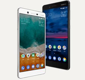 Nokia 7 Wit zwart