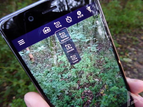 Nokia 8 camera-app