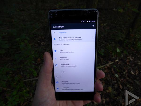 Nokia 8 instellingen