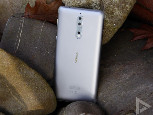 Nokia 8 achterkant