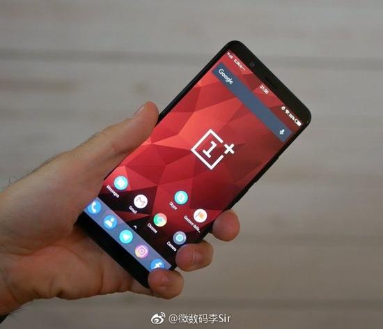 OnePlus 5T live foto