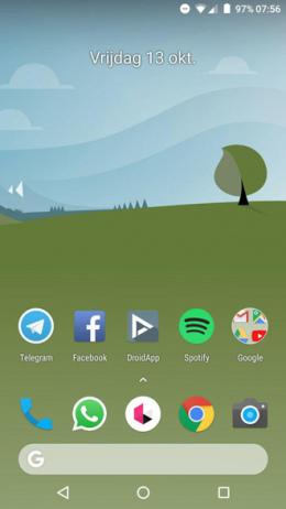 Pixel 2 Launcher