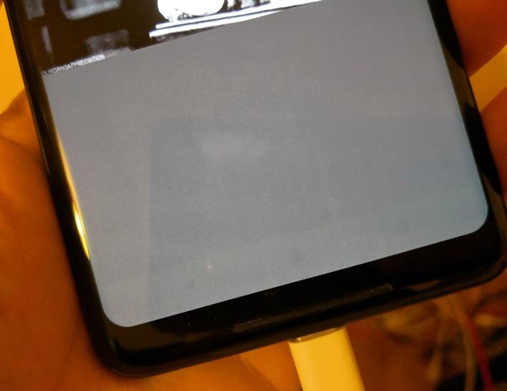Pixel 2 XL ingebrand scherm