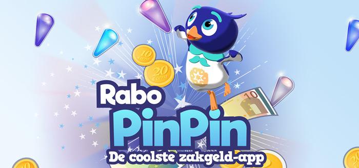 Rabobank lanceert 'Rabo PinPin' game: leert kinderen met geld omgaan