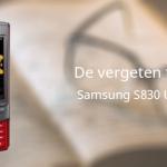 De vergeten telefoon: Samsung S8300 UltraTouch