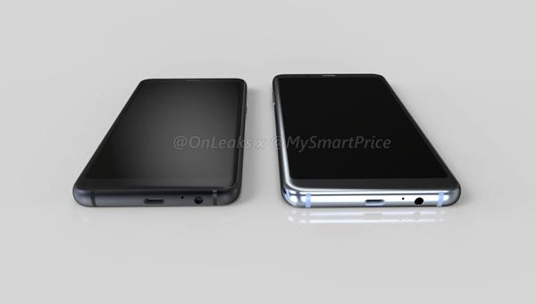 Samsung Galaxy A5 (2018) A7 (2018) render