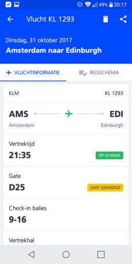 Schiphol app 6.0
