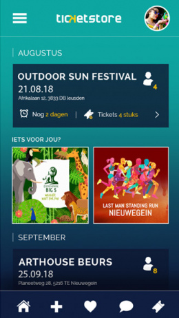 Ticketstore app
