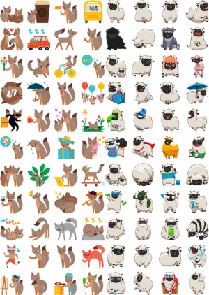 WhatsApp Stickers Facebook