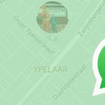 WhatsApp voegt 'live locatie delen met vrienden' toe: zo werkt het