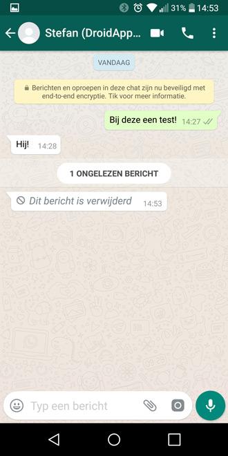 Whatsapp Bericht