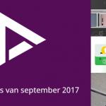 De 9 beste apps van september 2017 (+ het belangrijkste nieuws)
