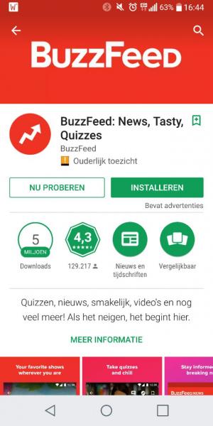 Instant app Nu Proberen