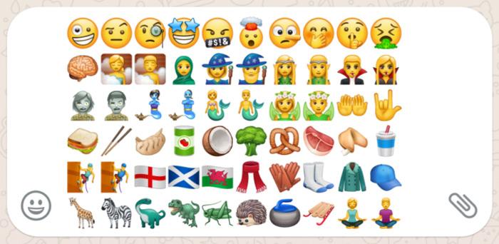 WhatsApp 2.17.397 emoji
