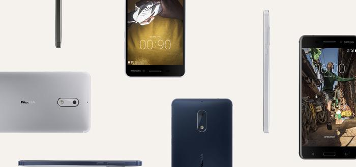 Nokia 6, 5, Nokia 8 en Motorola One Vision krijgen beveiligingsupdate september