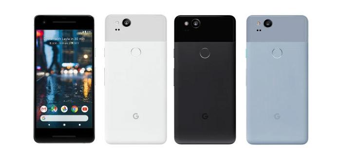 Evan Blass lekt Pixel 2 XL in alle kleuren: zo ziet hij eruit