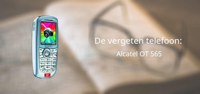 De vergeten telefoon: Alcatel OT 565